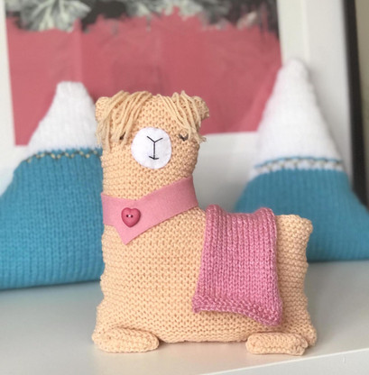 Llama Knitting Kit