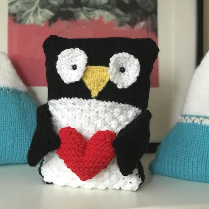 penguin knitting pattern