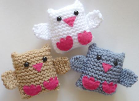 Jingle Birds Learn To Knit Kit