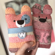 Personalised Knitty Cats and Dogs *Readyknitted*