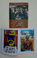 "T. Ellis signed 36 page full color exhibition catalog,  ""Pride, Dignity, and Courage"". 11x8.5  $50.00 www.tellisfineart.com"