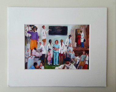 The Healers-matted 8x10 print