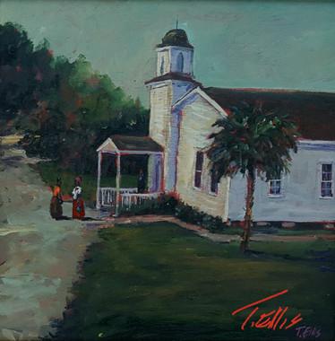 Our Worship House, 15x15, T. Ellis original, $3450.00