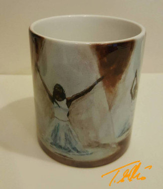 Praise Dancers collectible art mug  $19.95  http://www.tellisfineart.com/colored-man-collectible-art-mug-19-95/