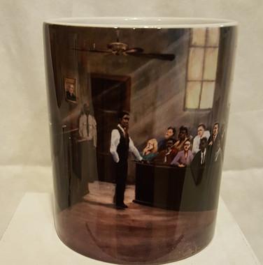 Justice-T. Ellis Collectible Art Mug $19.95