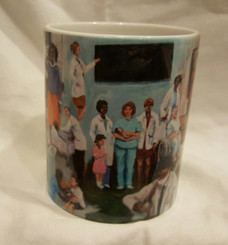 The Healer-T. Ellis collectible  art mug $19.95