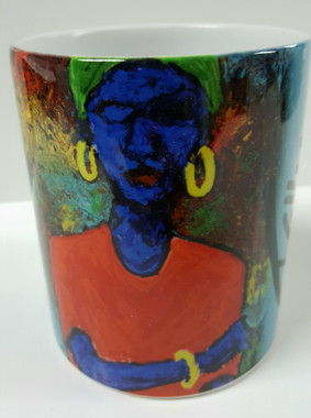 Blue Mystic-T. Ellis Collectible art mug  $19.95