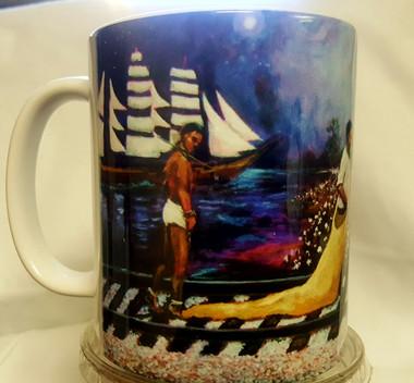 The Journey I-T.Ellis collectible art mug  $19.95