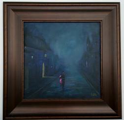 Midnight Romance, 16x16, $3650.00