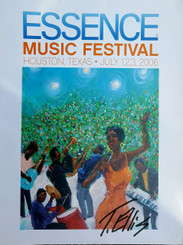 Essence Festival signed Souvenir Poster..only 100 available 28x22 FREE SHIPPING!!!