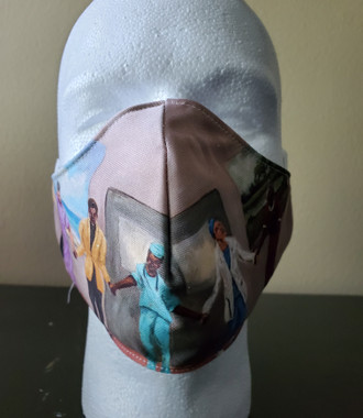 Prayers Heal-T. Ellis Art Face Mask washable. Allow  up to 2 weeks for delivery