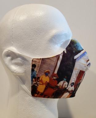 We Serve Our Community II - T. Ellis Art Mask