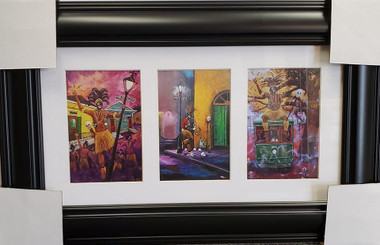 Mardi Gras New Orleans-T. Ellis New Orleans Mardi Gras paintings!!! Ready for your home $139.00 FREE SHIPPING!!!
