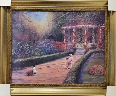 Springtime framed- 22x28 textured print. Regular price $625.00