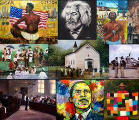The Black History Collection, Series I- 20x20, signed by artist, T. Ellis