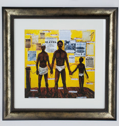 On the Auction Block- framed