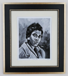 Congresswoman Barbara Jordan-framed