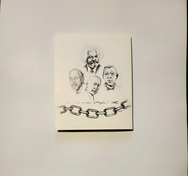 Sons Linked to the Struggle - signed by T. Ellis, 10x8 print