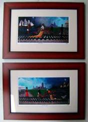 The Journey I & II (framed)