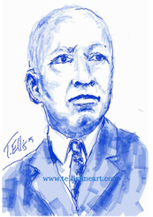 "Celebrating Black History: 17x11 signed digital archival print by T. Ellis $30.00 Carter G. Woodson was an African-American writer and historian known as the ""Father of Black History Month."" He penned the influential book The Mis-Education of the Negro.  http://www.biography.com/people/carter-g-woodson-9536515 For Immediate Release Media Contact:Carolyn M. Thibodeaux, Children's & YA Librarian Port Arthur Public Library 4615 9th Ave Port Arthur, TX 77642 (409) 985-8838 ext.2237 Port Arthur Public Library Commemorates Black History Month through Art-STEM ( STEAM) Feb. 1-29, 2016 Port Arthur Texas - In commemoration of Black History month, The PAPL is elated to exhibit the Art of leveraging Science Technology and History through art and technology featuring a comprehensive collection of artwork from Ted Ellis featuring 29 Drawings of African Americans including biographies of 29 African Americans created with the use of Samsung technology on their Galaxy Note 5 mobile phone. This will be a first exhibit of its kind in the PAPLs History. The exhibit starts February 1 through Feb. 29, 2016 with a free opening reception scheduled Thursday February 11, 2016. Fueled by his passion for his family and his heritage; enabled by his artistic skill and commitment to excellence, Ted Ellis paints ""subjects that are representative of the many facets of American life, particularly, African-American culture and history"" as he knows It. ""I like to think of myself as a creative historian. I was put here to record history…all aspects of American culture and heritage. My sole purpose has always been to educate through my art."" With more than 30 years in the arts industry, Ted is not only a talented and creative artist he is fully capable of capturing the tone and significance of momentous events in a timely manner. Ted Ellis Fine Art is synonymous to the American experience, not just from the African American's perspective but from a cultural and iconic Ideal.Ellis recently presented ""Bloody Sunday-Selma, 1965"" at the 50th Anniversary Commemoration Event. For more information on the Art-STEM ( STEAM) and how you can support this event, please contact the Port Arthur Public Library (409) 985-8838 ext.2237"