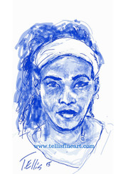 """Serena Williams, 17x11 signed digital print by T. Ellis $30.00 www.tellisfineart.com  In recognition of Black History Month  American professional tennis player Serena Williams has won over 20 Grand Slam singles titles and several Olympic gold medals.  http://www.biography.com/people/serena-williams-9532901  For Immediate Release Media Contact:Carolyn M. Thibodeaux, Children's & YA Librarian Port Arthur Public Library 4615 9th Ave Port Arthur, TX 77642 (409) 985-8838 ext.2237 Port Arthur Public Library Commemorates Black History Month through Art-STEM ( STEAM) Port Arthur Texas - In commemoration of Black History month, The PAPL is elated to exhibit the Art of leveraging Science Technology and History through art and technology featuring a comprehensive collection of artwork from Ted Ellis featuring 29 Drawings of African Americans including biographies of 29 African Americans created with the use of Samsung technology on their Galaxy Note 5 mobile phone. This will be a first exhibit of its kind in the PAPLs History. The exhibit starts February 1 through Feb. 29, 2016 with a free opening reception scheduled Thursday February 11, 2016. Fueled by his passion for his family and his heritage; enabled by his artistic skill and commitment to excellence, Ted Ellis paints """"subjects that are representative of the many facets of American life, particularly, African-American culture and history"""" as he knows It. """"I like to think of myself as a creative historian. I was put here to record history…all aspects of American culture and heritage. My sole purpose has always been to educate through my art."""" With more than 30 years in the arts industry. Ted is not only a talented and creative artist he is fully capable of capturing the tone and significance of momentous events in a timely manner. Ted Ellis Fine Art is synonymous to the American experience, not just from the African American's perspective but from a cultural and iconic Ideal.Ellis recently presented """"Bloody Sunday-Selma,"""