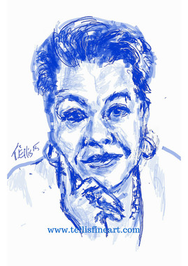 """Maya Angelou, 17x11 digital signed T. Ellis print $30.00 www.tellisfinart.com  In recognition of Black History Month 