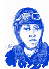 "Bessie Coleman, 17x11 digital print signed by T. Ellis $30.00 www.tellisfineart.com  In recognition of Black History Month...Bessie Coleman  In 1922, aviator Bessie Coleman became the first African American woman to stage a public flight in America. Her high-flying skills always wowed her audience. http://www.biography.com/people/bessie-coleman-36928 https://www.youtube.com/watch?v=DeXUj8xOWtg For Immediate Release Media Contact:Carolyn M. Thibodeaux, Children's & YA Librarian Port Arthur Public Library 4615 9th Ave Port Arthur, TX 77642 (409) 985-8838 ext.2237 Port Arthur Public Library Commemorates Black History Month through Art-STEM ( STEAM) Port Arthur Texas - In commemoration of Black History month, The PAPL is elated to exhibit the Art of leveraging Science Technology and History through art and technology featuring a comprehensive collection of artwork from Ted Ellis featuring 29 Drawings of African Americans including biographies of 29 African Americans created with the use of Samsung technology on their Galaxy Note 5 mobile phone. This will be a first exhibit of its kind in the PAPLs History. The exhibit starts February 1 through Feb. 29, 2016 with a free opening reception scheduled Thursday February 11, 2016. Fueled by his passion for his family and his heritage; enabled by his artistic skill and commitment to excellence, Ted Ellis paints ""subjects that are representative of the many facets of American life, particularly, African-American culture and history"" as he knows It. ""I like to think of myself as a creative historian. I was put here to record history…all aspects of American culture and heritage. My sole purpose has always been to educate through my art."" With more than 30 years in the arts industry. Ted is not only a talented and creative artist he is fully capable of capturing the tone and significance of momentous events in a timely manner. Ted Ellis Fine Art is synonymous to the American experience, not just from the African American's perspective but from a cultural and iconic Ideal.Ellis recently presented ""Bloody Sunday-Selma, 1965"" at the 50th Anniversary Commemoration Event. Learn more about T. Ellis,www.tellisfineart.com. For more information on the Art-STEM ( STEAM) and how you can support this event, please contact the Port Arthur Public Library (409) 985-8838 ext.2237"