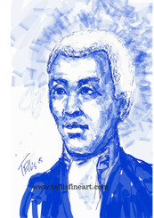 """Benjamin Banneker, 17x11, digital signed print by T. Ellis $30.00 www.tellisfineart.com  In recognition of Black History Month... Benjamin Banneker  Benjamin Banneker was a largely self-educated mathematician, astronomer, compiler of almanacs and writer.  http://www.biography.com/people/benjamin-banneker-9198038  https://www.youtube.com/watch?v=DeXUj8xOWtg For Immediate Release Media Contact:Carolyn M. Thibodeaux, Children's & YA Librarian Port Arthur Public Library 4615 9th Ave Port Arthur, TX 77642 (409) 985-8838 ext.2237 Port Arthur Public Library Commemorates Black History Month through Art-STEM ( STEAM) Port Arthur Texas - In commemoration of Black History month, The PAPL is elated to exhibit the Art of leveraging Science Technology and History through art and technology featuring a comprehensive collection of artwork from Ted Ellis featuring 29 Drawings of African Americans including biographies of 29 African Americans created with the use of Samsung technology on their Galaxy Note 5 mobile phone. This will be a first exhibit of its kind in the PAPLs History. The exhibit starts February 1 through Feb. 29, 2016 with a free opening reception scheduled Thursday February 11, 2016. Fueled by his passion for his family and his heritage; enabled by his artistic skill and commitment to excellence, Ted Ellis paints """"subjects that are representative of the many facets of American life, particularly, African-American culture and history"""" as he knows It. """"I like to think of myself as a creative historian. I was put here to record history…all aspects of American culture and heritage. My sole purpose has always been to educate through my art."""" With more than 30 years in the arts industry. Ted is not only a talented and creative artist he is fully capable of capturing the tone and significance of momentous events in a timely manner. Ted Ellis Fine Art is synonymous to the American experience, not just from the African American's perspective but from a cultural and iconic Ide"""