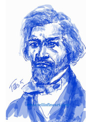 "Frederick Douglass, 17x11 digital signed T. Ellis print $30.00 www.tellisfineart.com  In recognition of...Black History Month  Famed 19th-century author and orator Frederick Douglass was an eminent human rights leader in the anti-slavery movement and the first African-American citizen to hold a high U.S. government rank. http://www.biography.com/people/frederick-douglass-9278324  https://www.youtube.com/watch?v=DeXUj8xOWtg For Immediate Release Media Contact:Carolyn M. Thibodeaux, Children's & YA Librarian Port Arthur Public Library 4615 9th Ave Port Arthur, TX 77642 (409) 985-8838 ext.2237 Port Arthur Public Library Commemorates Black History Month through Art-STEM ( STEAM) Port Arthur Texas - In commemoration of Black History month, The PAPL is elated to exhibit the Art of leveraging Science Technology and History through art and technology featuring a comprehensive collection of artwork from Ted Ellis featuring 29 Drawings of African Americans including biographies of 29 African Americans created with the use of Samsung technology on their Galaxy Note 5 mobile phone. This will be a first exhibit of its kind in the PAPLs History. The exhibit starts February 1 through Feb. 29, 2016 with a free opening reception scheduled Thursday February 11, 2016. Fueled by his passion for his family and his heritage; enabled by his artistic skill and commitment to excellence, Ted Ellis paints ""subjects that are representative of the many facets of American life, particularly, African-American culture and history"" as he knows It. ""I like to think of myself as a creative historian. I was put here to record history…all aspects of American culture and heritage. My sole purpose has always been to educate through my art."" With more than 30 years in the arts industry. Ted is not only a talented and creative artist he is fully capable of capturing the tone and significance of momentous events in a timely manner. Ted Ellis Fine Art is synonymous to the American experience, not just from the African American's perspective but from a cultural and iconic Ideal.Ellis recently presented ""Bloody Sunday-Selma, 1965"" at the 50th Anniversary Commemoration Event. Learn more about T. Ellis,www.tellisfineart.com. For more information on the Art-STEM ( STEAM) and how you can support this event, please contact the Port Arthur Public Library (409) 985-8838 ext.2237"