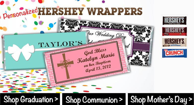 Candy Bar Wrappers Banner