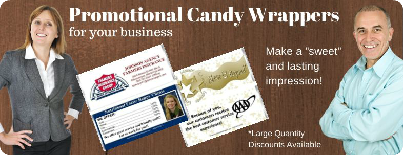 Business Candy Wrappers Banner