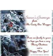 Season's Greetings Candy Wrappers