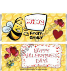 Bees Candy Wrappers Sample