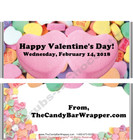 Conversation Hearts Valentine Candy Wrappers
