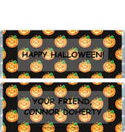 Pumpkin Candy Wrappers