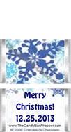 Mini Snowflake Candy Bars Sample