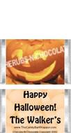 Mini Halloween Candy Bars Sample