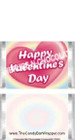 Mini Valentine Candy Bars