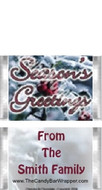 Mini Seasons Candy Bars Sample