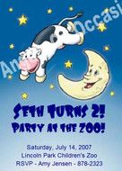 First Birthday Invitations Sample