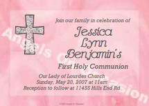 Baptism Invitations Sample