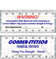 Health and Fitness Candy Wrappers Sample