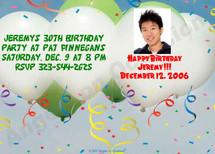 Personalized Birthday Invitations Sample