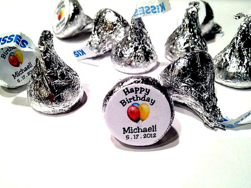 Birthday Personalized Hershey's Kisses