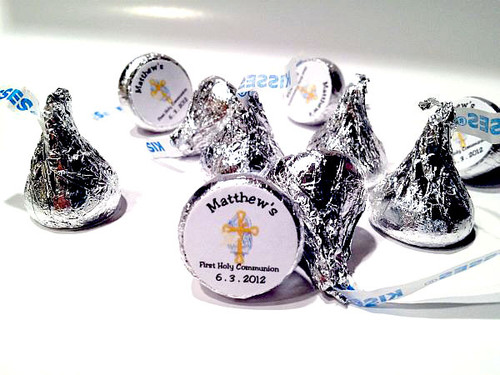 Religious Personalized Hershey's Kisses