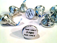 Custom Hershey Kisses