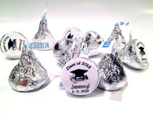 Graduation Personalized Hersheys Kisses (96 per set)