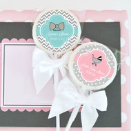 Personalized Something Sweet Baby Lollipop Favors