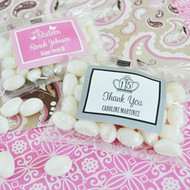Sweet 16 or 15 Personalized Jelly Bean Favors