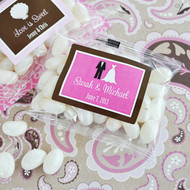Personalized Theme Jelly Bean Favors
